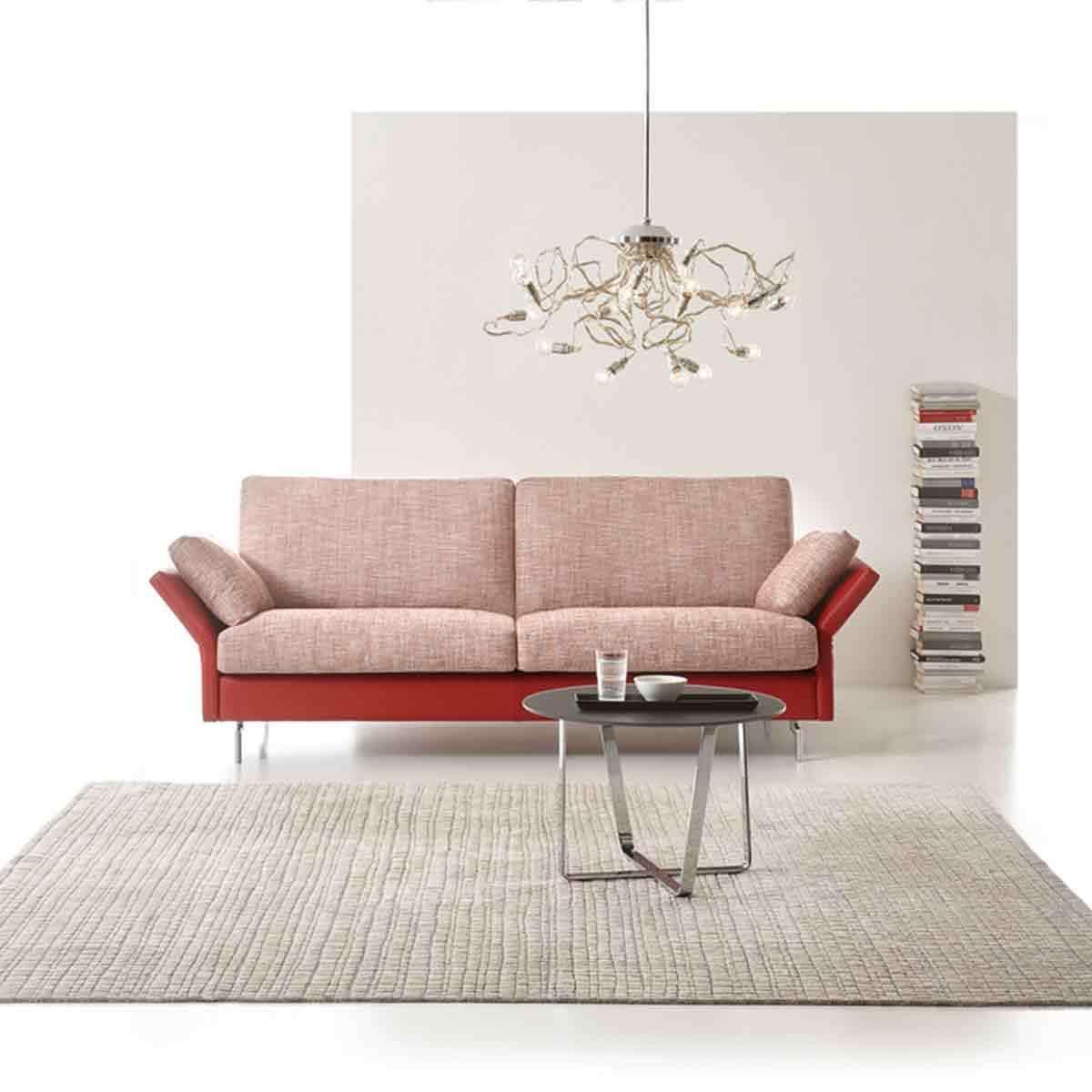 Sofa rot von Erpo inkl. Kissen