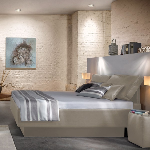Polsterbett Composium von Ruf Betten in Beige, ca.180x200 cm bei flamme.de
