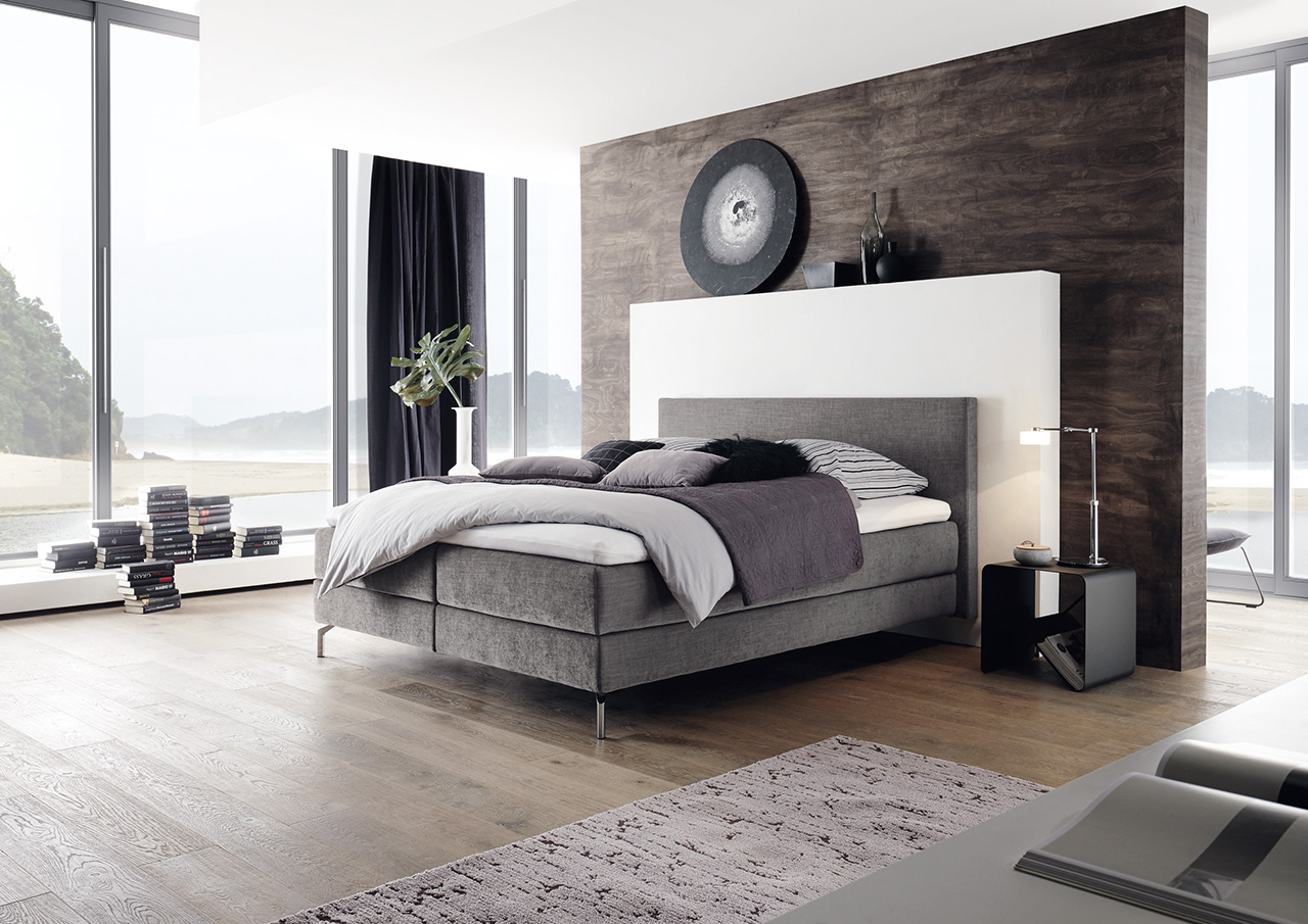 boxspringbett g nstig kaufen flamme. Black Bedroom Furniture Sets. Home Design Ideas