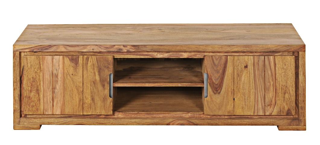 tv board aus sheesham holz 2 t rig flamme. Black Bedroom Furniture Sets. Home Design Ideas