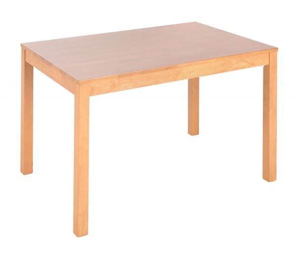 Holztisch in massiver Eiche, 120x80 cm bei flamme.de