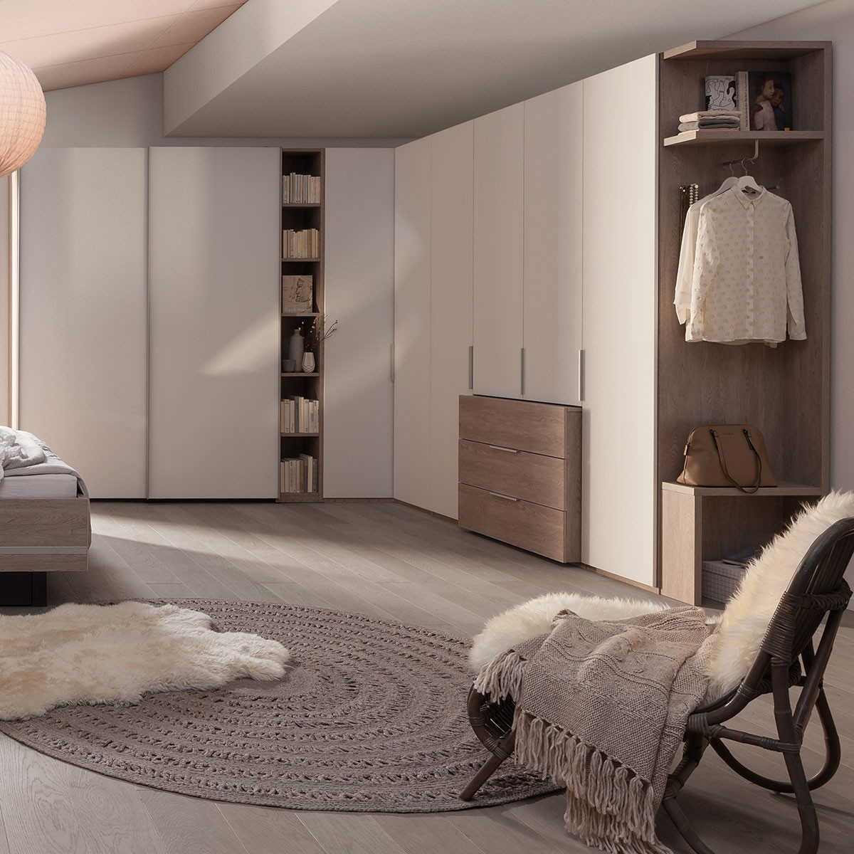 Schrankkombination Concept ME100/300 von Nolte Möbel in Weiß
