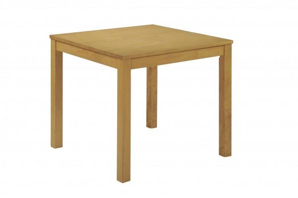 Massiver Eiche-Tisch 80x80 cm bei flamme.de