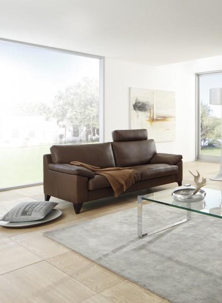 Sofa 2,5-Sitzer Classics 650 von Erpo in Leder | Flamme
