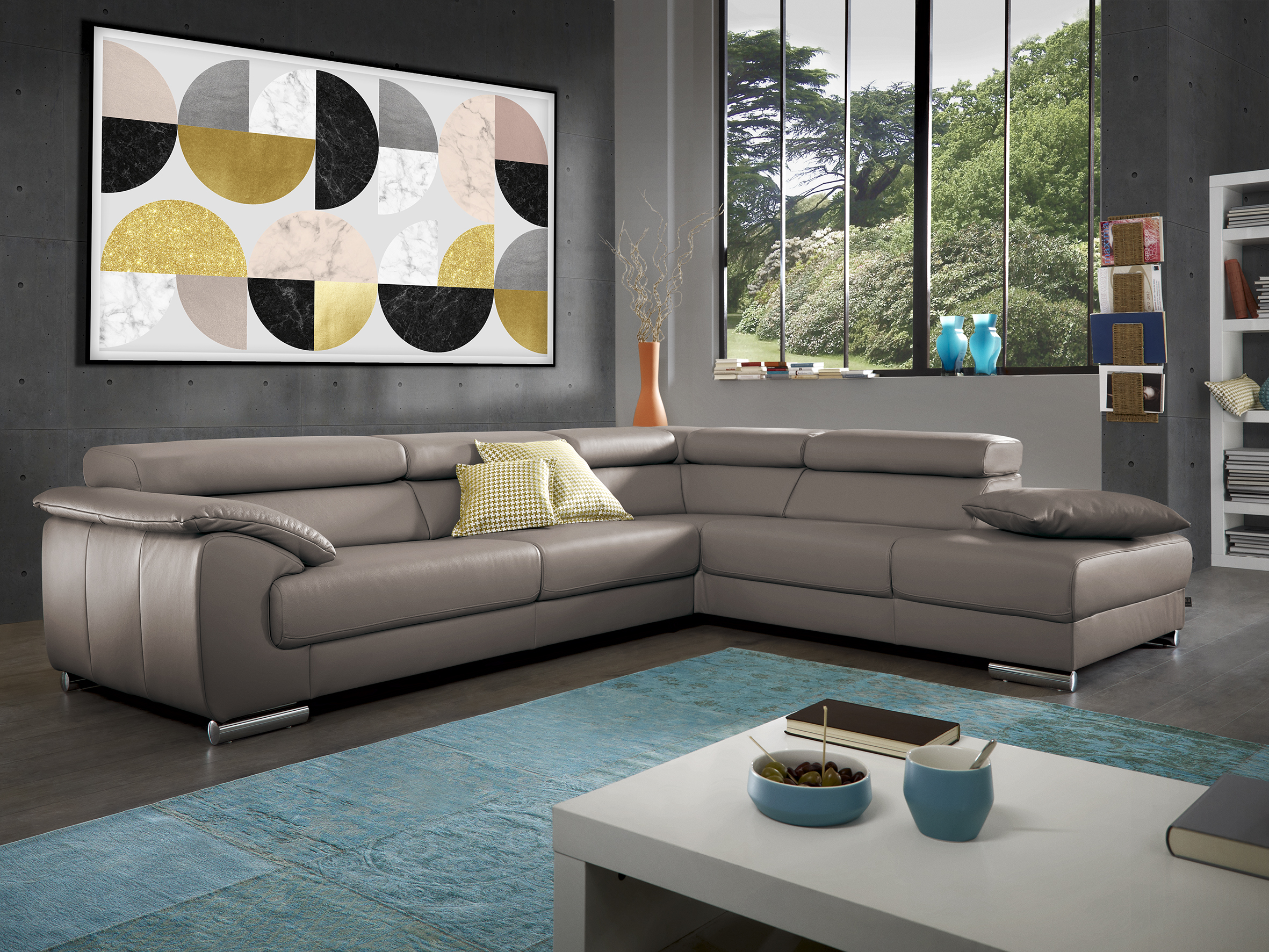 polsterecke blues von ewald schillig brand flamme. Black Bedroom Furniture Sets. Home Design Ideas