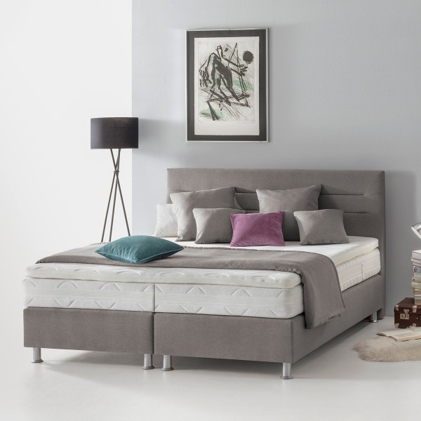 Boxspringbett Paris in Grau bei flamme.de