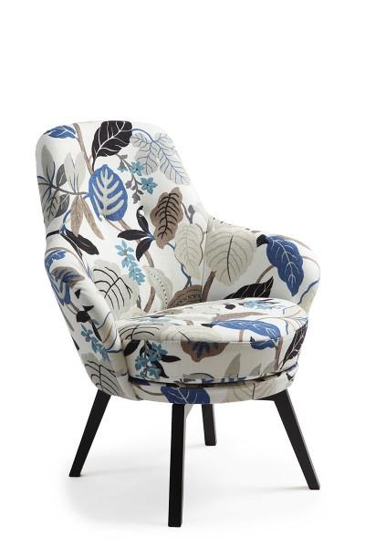 Drehbarer Sessel in Stoffbezug bei flamme.de