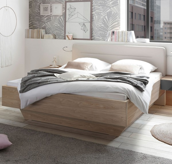 Bett in Holzoptik, ca. 120x200 cm bei flamme.de