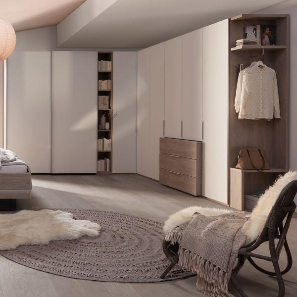 Schrankkombination Concept ME100/300 von Nolte Möbel in Weiß bei flamme.de