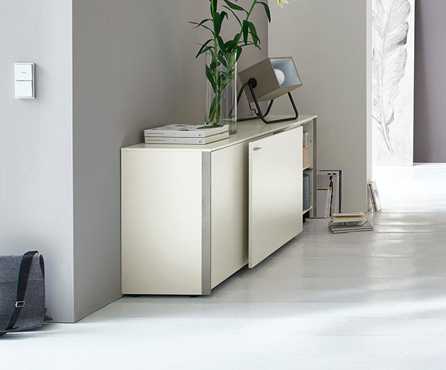 sideboard sentino von venjakob flamme. Black Bedroom Furniture Sets. Home Design Ideas